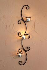 Wandteelichthalter Metall Schwarz Ema Teelichthalter Kerzenhalter Kerzenleuchter