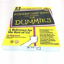 PowerPoint 2000 for Windows for Dummies® by Doug Lowe and Grace Jasmine (1999, …