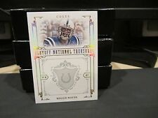 National Treasures Parallel Platinum Base Card Colts Reggie Wayne 2/5 2008