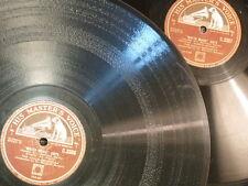 """78 rpm 2x12"""" HALLE - SARGENT water music suite C.3306 / 7 arr hamilton harty"""