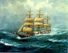 John Allcot, Antiope, Sailing Ships From The Past.Sails. Ships.
