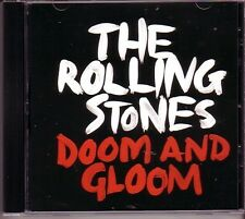 "ROLLING STONES ""Doom and Gloom"" US  1 Track Promo CD RARE"