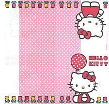 3 Serviettes en papier Hello Kitty Chat Decoupage Paper Napkins Cat Cartoon