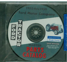 53 55 56 57 59 FORD TRACTOR PARTS MANUAL ON CD- NAA 600 700 800 900 1801