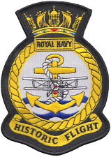 Royal Navy Historic Flight RNAS Yeovilton FAA Crest MOD Embroidered Patch