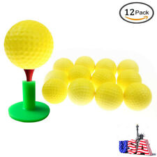 PU Golf Ball Training Practice Foam Balls For Children Adult Indoor 12 Pcs US