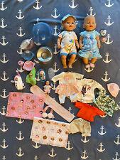 Baby Born Puppen Set mit viel Zubehör Elsa