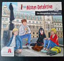 Die ALSTER-DETEKTIVE Teil 1, 2, 3, 4, 5, 6, alle Folgen, CD, Hörspiel Kinder NEU