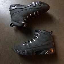 Men's Nike Air Jordan 9 IX Retro Anthracite Black White Gray Sz 8.5 (302370-013)
