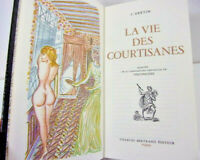 Curiosa. L'Arétin :  la vie des courtisanes - illustrations de Touchagues