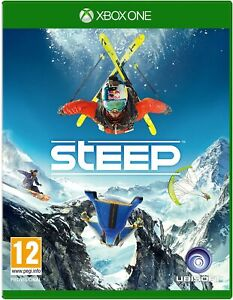 Steep Microsoft Xbox One SnowBoarding Sports Video Game - Complete with Manual