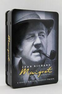 """coffret Métal 6 dvd volume 1 """" Jean Richard Maigret les meilleurs enquêtes """""""