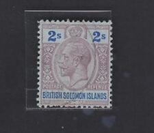 SOLOMON ISLANDS 37, Geo V 1914-24  2sh used