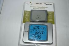 Taylor Wireless Digital Weather Station Indoor Outdoor & Humidity / SEALED