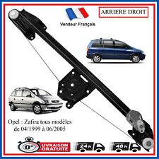 Mecanisme de Leve Vitre Electrique Arriere Droit pour Opel Zafira A