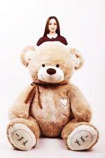 190 cm ! GIANT TEDDY BEAR LARGE BIG HUGE STUFFED beige brown BIRTHDAY GIFT !