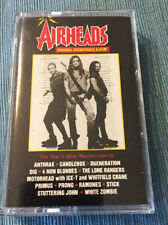 Airheads Motion Picture Soundtrack cassette tape
