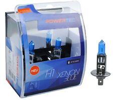 POWERTEC Xenon Blu Duo H1 LAMPADINA DEL FARO AUTO SET 12V 55W