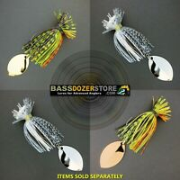 Bassdozer TAIL SPINNER jigs. Tailspinner bass fishing jig