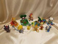 Rare Pokemon Nintendo Figure Playset Lot of 12 Hasbro Jakks Tomy - Swampert Uxie