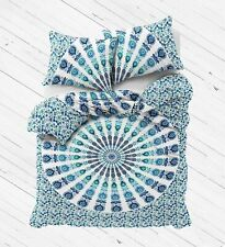 Indian Mandala Donna /Duvet/Quilt Bedding Set Cover Handmade Queen Throw Decor