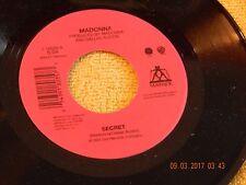 Madonna , Secret 45 Rpm Maverick 18035 / NM