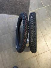2  Reifen & Schlauch 3.00-17 50P 2.75-17 47P  Heidenau 58 Made in Germany