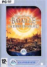 LE SEIGNEUR DES ANNEAUX LA BATAILLE POUR LA TERRE DU MILIEU PC DVD