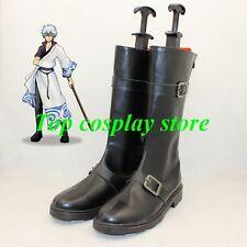 GINTAMA Sakata Gintoki shorter cosplay shoes boots shoe boot shoter ver