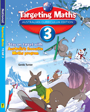 TARGETING MATHS YEAR 3 AUSTRALIAN CURRICULUM EDITION 9781742152226 Free postage