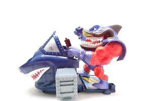 Street Sharks Vintage 1995 Super Slammu Action Figure and vehicle 🦈💥