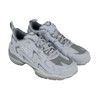 Reebok DMX Series 1600 DV5562 Mens Gray Casual Lace Up Low Top Sneakers Shoes