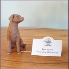 LOVE MY DOG LIGHT COLOR FIGURE FROM WILLOW TREE® ANGELS FREE U.S. SHIPPING