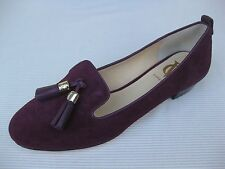 Vince Camuto Signature Womens Shoes $225 NEW Nancy Plum Kid Suede Slipon 11 M