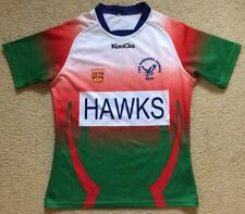 Small mens Tea Gardens Hawks RLFC Hunter CRL Country Rugby League #15 Jersey