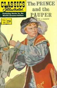 Classics Illustrated 029 The Prince and the Pauper #15 VG/FN 5.0 1970 Low Grade