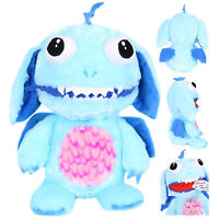 BLUE WORRY YUMMY MONSTER CUDDLY SOFT TOY TEDDY EATING NIGHTMARE DREAMS WORRIES