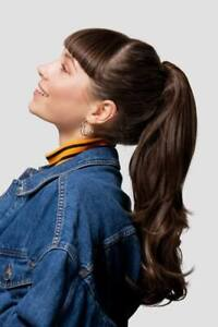 Stranded Long thick layered flicky ponytail Flick hairpiece Various colours