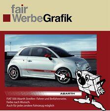 Aufkleber Fiat Abarth Streifen Abarth Style #0069