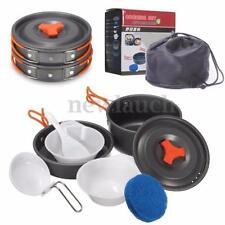 Accessoires casseroles matériel de cuisine pour tente et auvent de camping