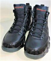 Vintage Nike Air Jordan Retro 9 IX Bred Patent Black Red 302370-014 Men's 9.5