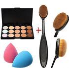 Pro Partei Beauty 15 Farben Contour Face Cream Make-up Concealer Palette Kit Hot