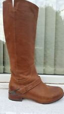 Ugg brown leather knee length riding style ' Channing ' boots 4.5