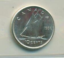ICCS Canada 10 cents 1956 MS-65 XGE 003