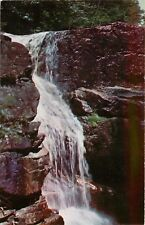 Avalanche FallsFlume Gorge Franconia Notch New Hampshire NH Postcard