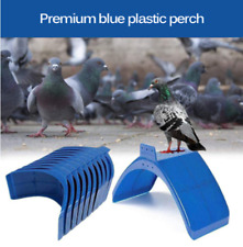 40X Pigeon Dove Bird Rest Stand Frame Dwelling Perches Roost Bird Supplies Blue