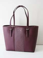 MICHAEL KORS TASCHE Shopper MICRO STUD SM CARRYALL TOTE plum