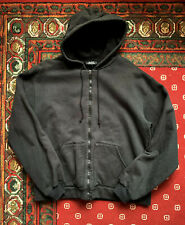 APC Black Zip Hoodie Size 3 (Medium)