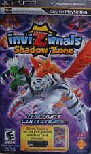 INVIZIMALS SHADOW ZONE WITH CAMERA BUNDLE NEW & SEALED FOR SONY PSP