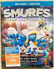 SMURFS: THE LOST VILLAGE~Blu-ray~2017~New Release~no digital copy~L@@K!!!